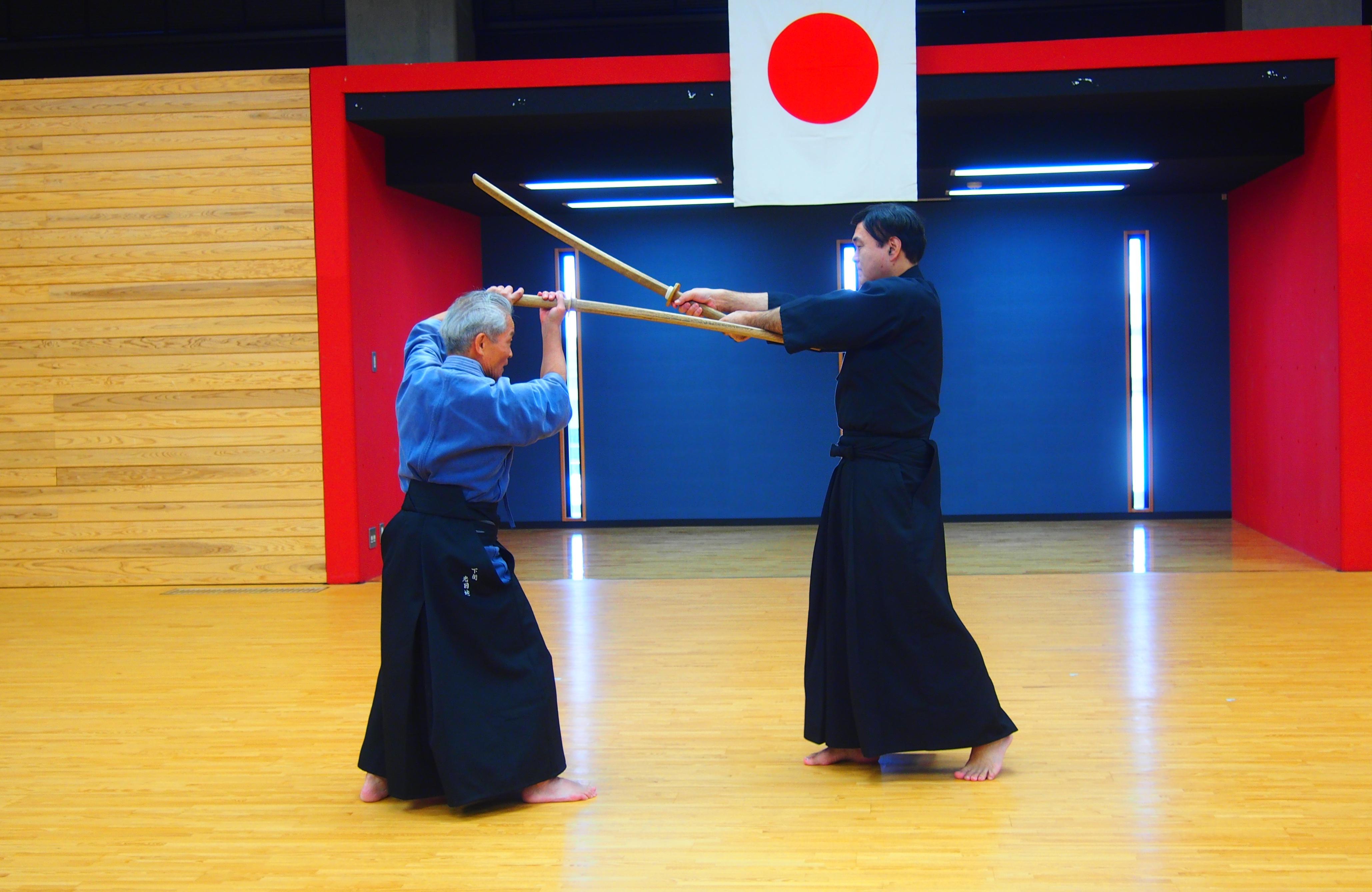 神道流剣術 「相寸」